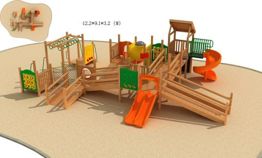 Jual Playhouse Wood Series Edukasi