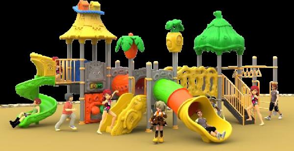 Outdoor Playground Mainan Beredukasi