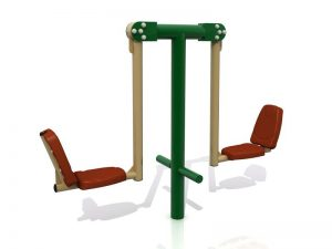 Jual Outdoor Fitness Squat Pushing