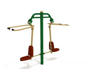 Jual Outdoor Fitness Pull Down Challenger Ber SNI