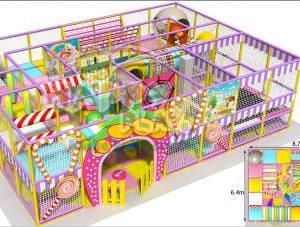 Desain kreatif playground indoor