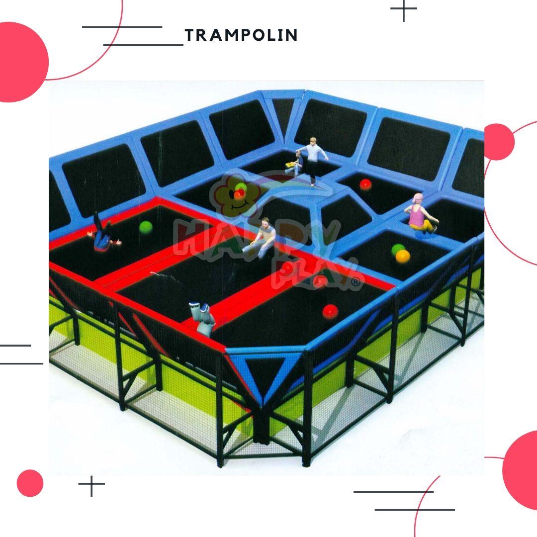 permaianan trampolin