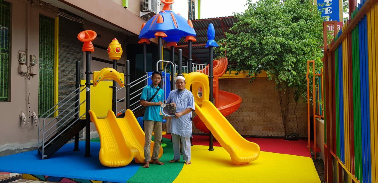 playground outdoor tk arahman jambi