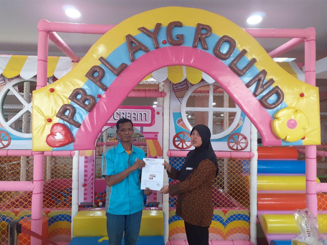 Project Indoor Playground – Swalayan Putra Baru, Lampung