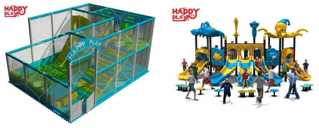 Peluang Usaha Baru Dengan Playground Outdoor Dan Indoor
